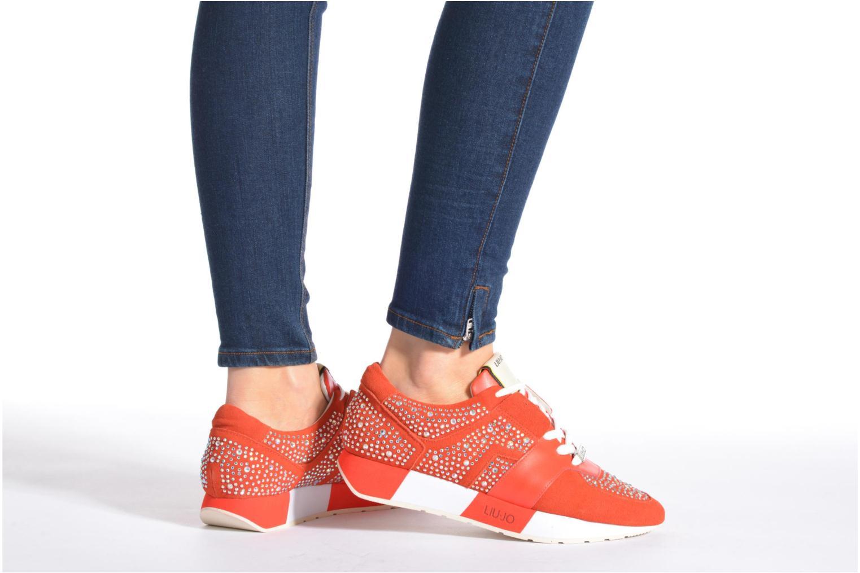 Baskets Liu Jo Clio basket Orange vue bas / vue portée sac