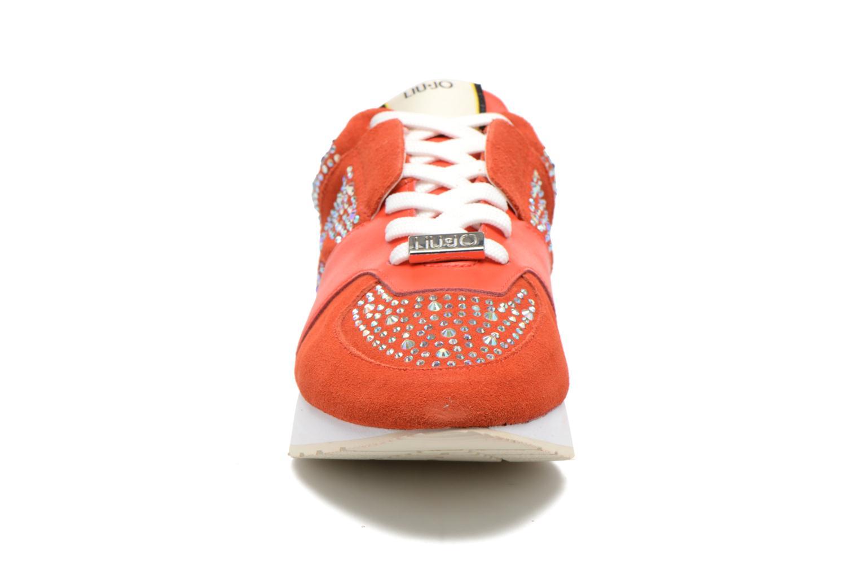 Baskets Liu Jo Clio basket Orange vue portées chaussures