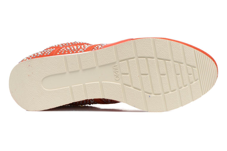 Baskets Liu Jo Clio basket Orange vue haut