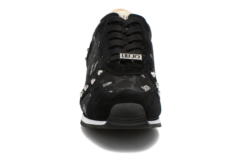 Baskets Liu Jo Maelys Noir vue portées chaussures