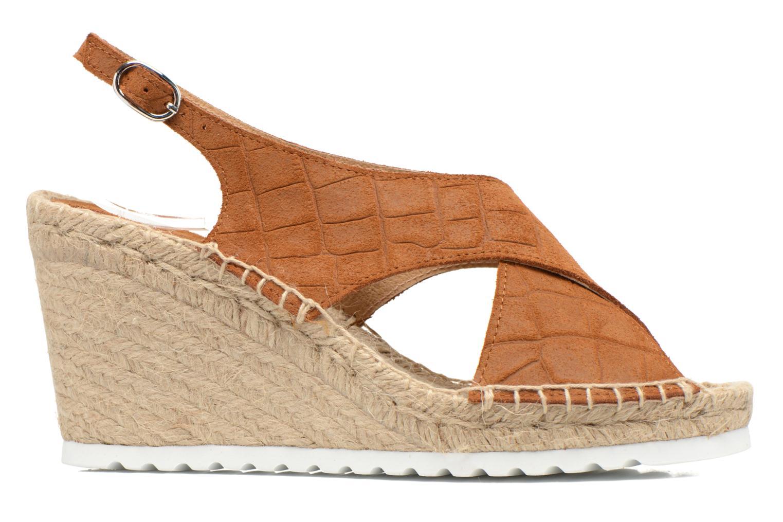 Sandales et nu-pieds SPM FISKER Marron vue derrière