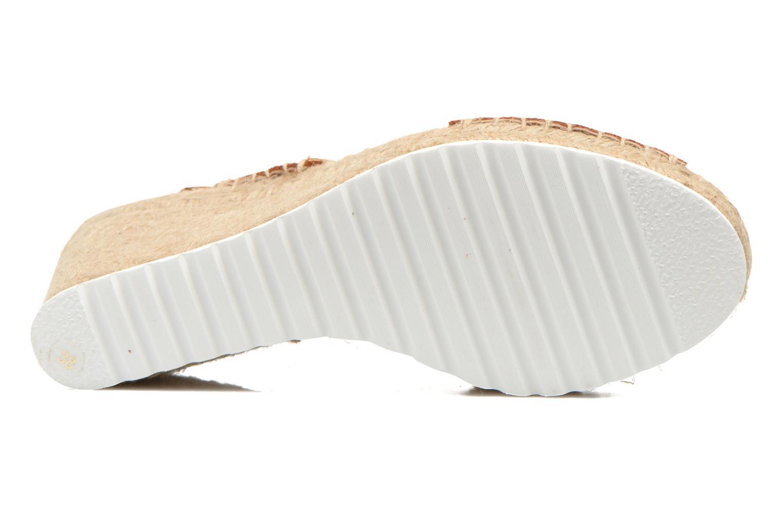 Sandales et nu-pieds SPM FISKER Marron vue haut