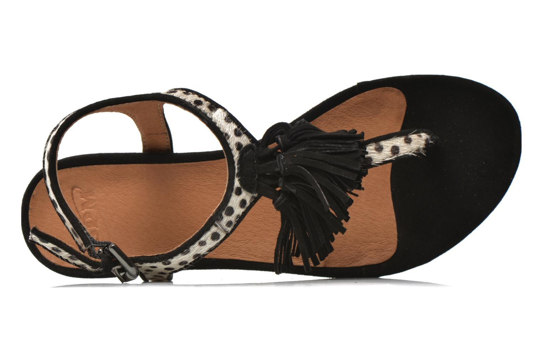 Sandales et nu-pieds SPM NANTES 2 Multicolore vue gauche