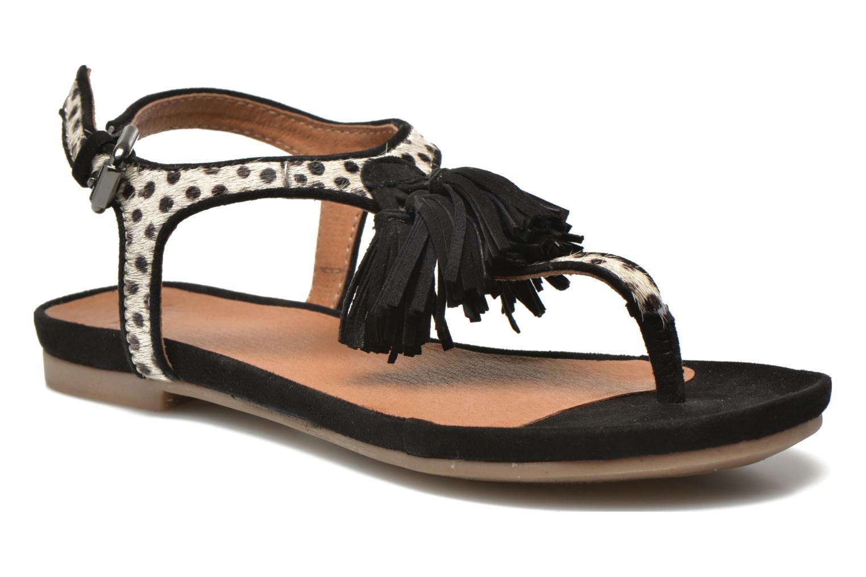 Sandales et nu-pieds SPM NANTES 2 Multicolore vue détail/paire