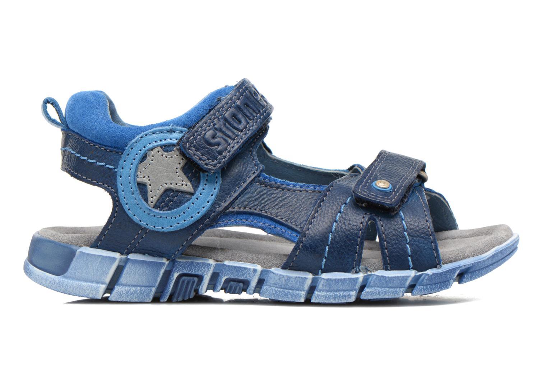 Sandales et nu-pieds Stones and Bones PANNO Bleu vue derrière