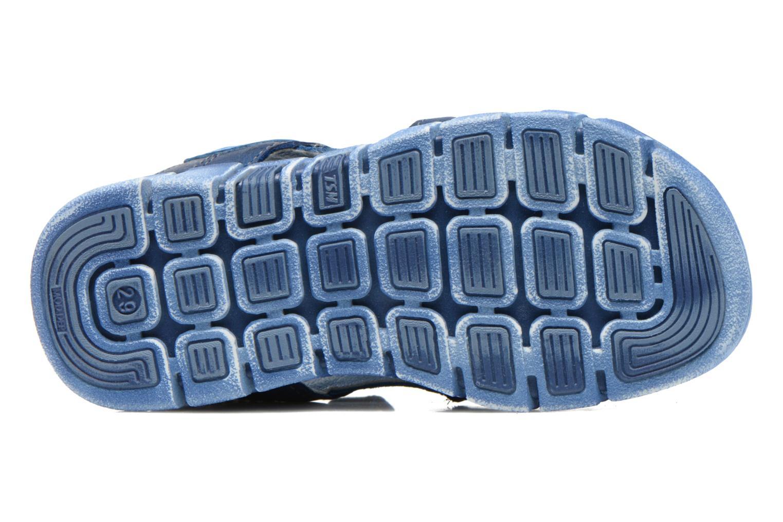 Sandales et nu-pieds Stones and Bones PANNO Bleu vue haut