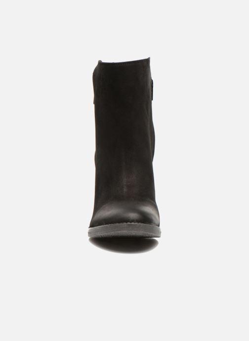 Bottines et boots Steve Madden RYATTQ Noir vue portées chaussures