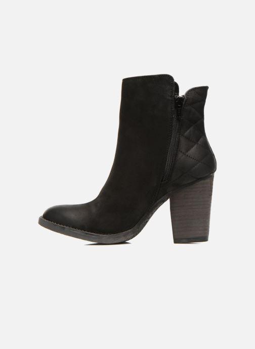 Boots en enkellaarsjes Steve Madden RYATTQ Zwart voorkant