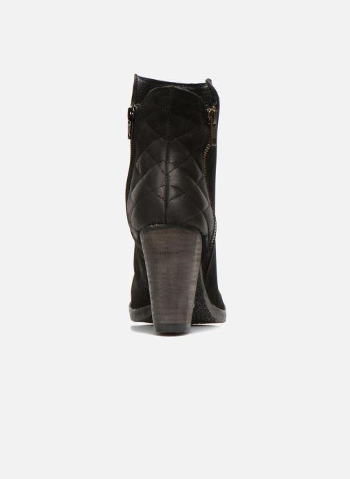 Boots en enkellaarsjes Steve Madden RYATTQ Zwart rechts