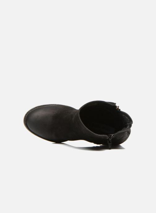 Boots en enkellaarsjes Steve Madden RYATTQ Zwart links