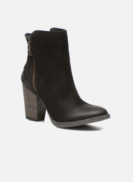 Boots en enkellaarsjes Steve Madden RYATTQ Zwart detail