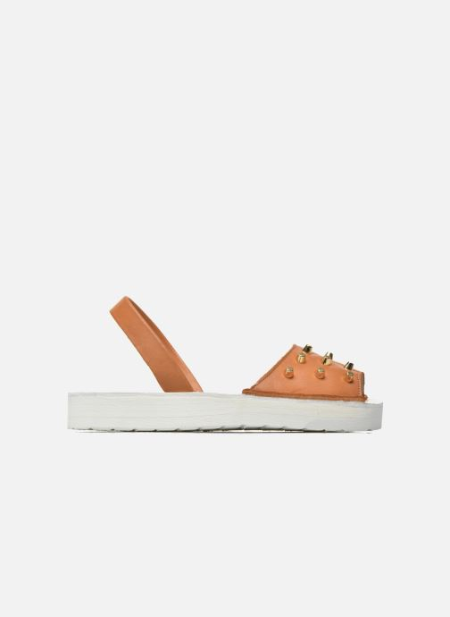 Sandales et nu-pieds MINORQUINES Creepers Marron vue derrière