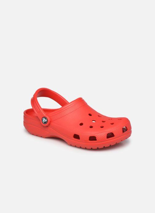 Mules et sabots Crocs Classic W Rouge vue détail/paire