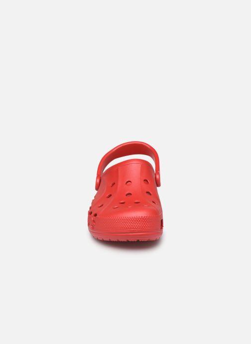 Sandales et nu-pieds Crocs Baya H Rouge vue portées chaussures