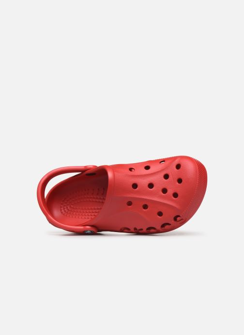 Sandals Crocs Baya H Red view from the left