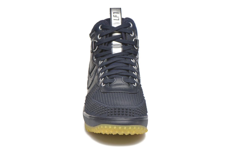 Baskets Nike Lunar Force 1 Duckboot Bleu vue portées chaussures