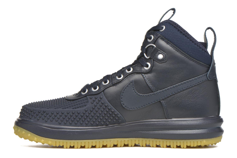 Baskets Nike Lunar Force 1 Duckboot Bleu vue face