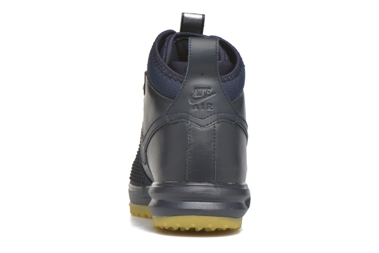 Baskets Nike Lunar Force 1 Duckboot Bleu vue droite