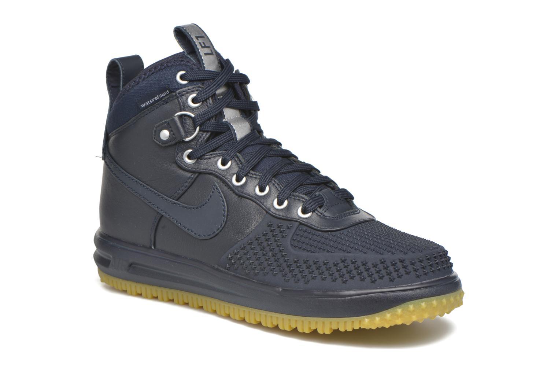 Baskets Nike Lunar Force 1 Duckboot Bleu vue détail/paire