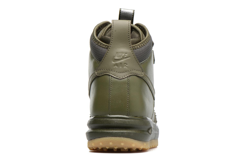Baskets Nike Lunar Force 1 Duckboot Vert vue droite