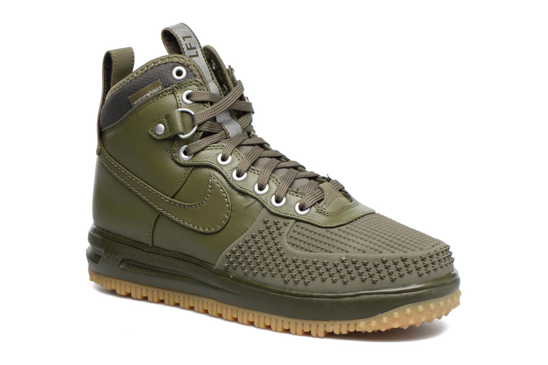 Baskets Nike Lunar Force 1 Duckboot Vert vue détail/paire