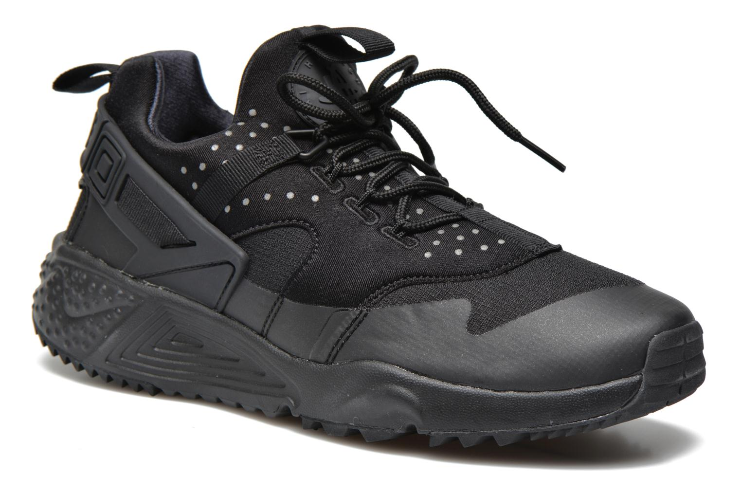 pick up c1355 70773 ... discount code for baskets nike nike air huarache utility noir vue  détail paire 8b08b 87f26