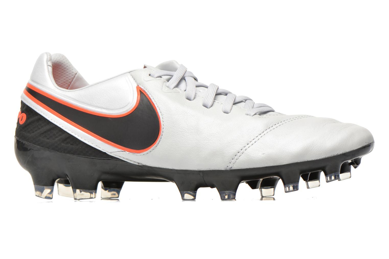 Chaussures de sport Nike Tiempo Legacy II Fg Gris vue derrière