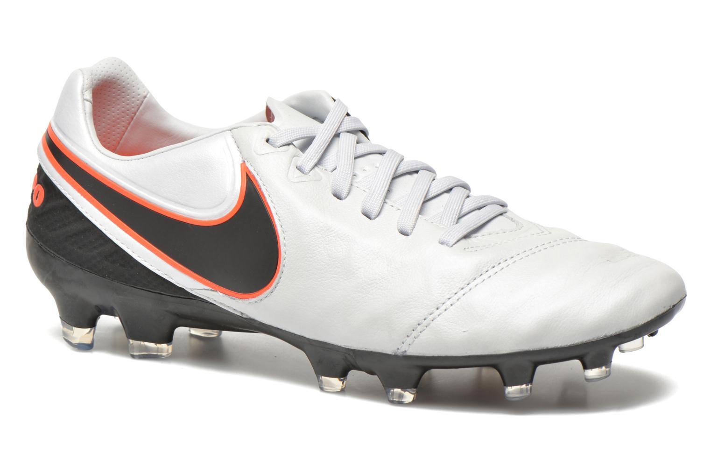 Chaussures de sport Nike Tiempo Legacy II Fg Gris vue détail/paire