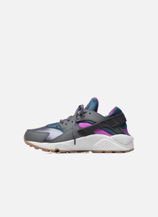 Sneaker Nike Wmns Air Huarache Run grau ansicht von vorne