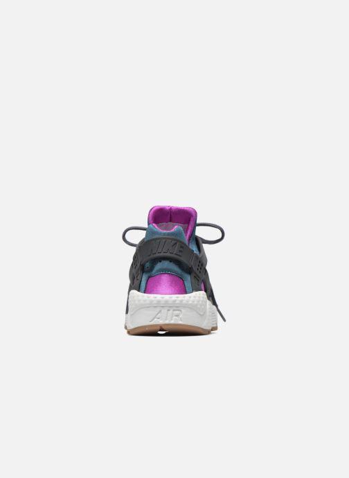 Baskets Nike Wmns Air Huarache Run Gris vue droite