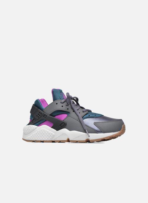Sneaker Nike Wmns Air Huarache Run grau ansicht von hinten