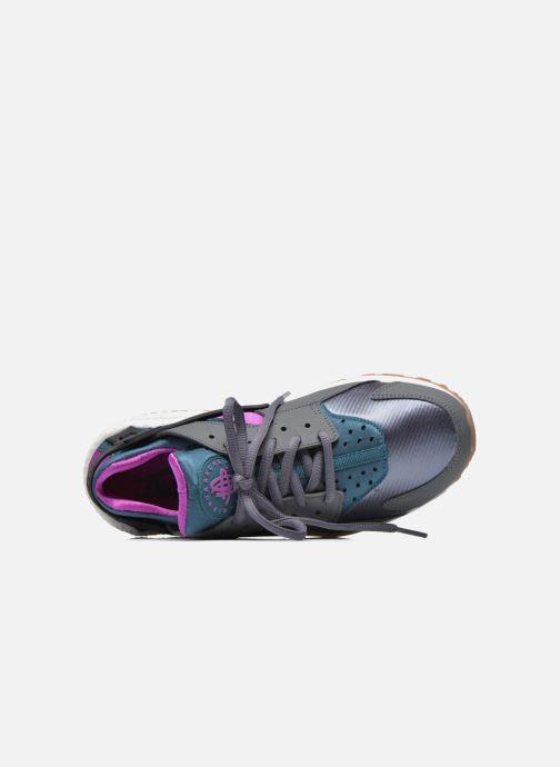 Sneaker Nike Wmns Air Huarache Run grau ansicht von links