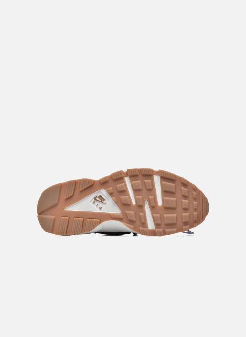 Sneaker Nike Wmns Air Huarache Run grau ansicht von oben