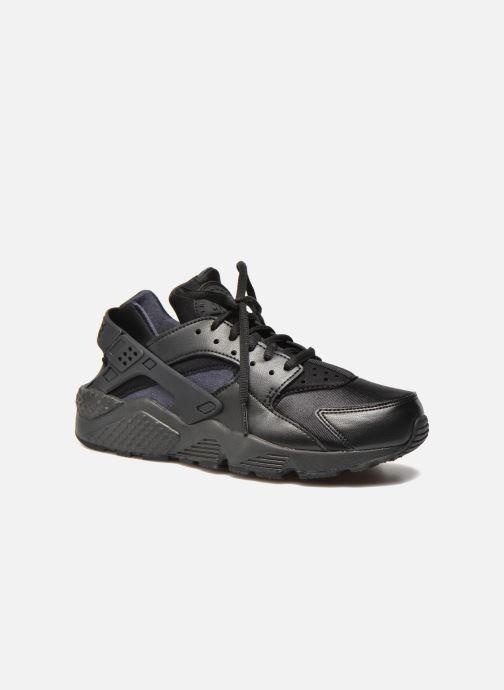 online store b33aa 6065f Sneaker Nike Wmns Air Huarache Run schwarz detaillierte ansichtmodell