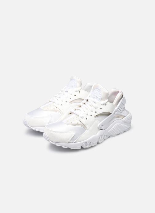 Sneaker Nike Wmns Air Huarache Run weiß ansicht von unten / tasche getragen