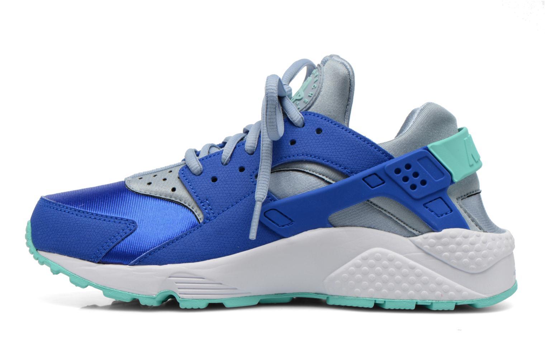 Baskets Nike Wmns Air Huarache Run Bleu vue face
