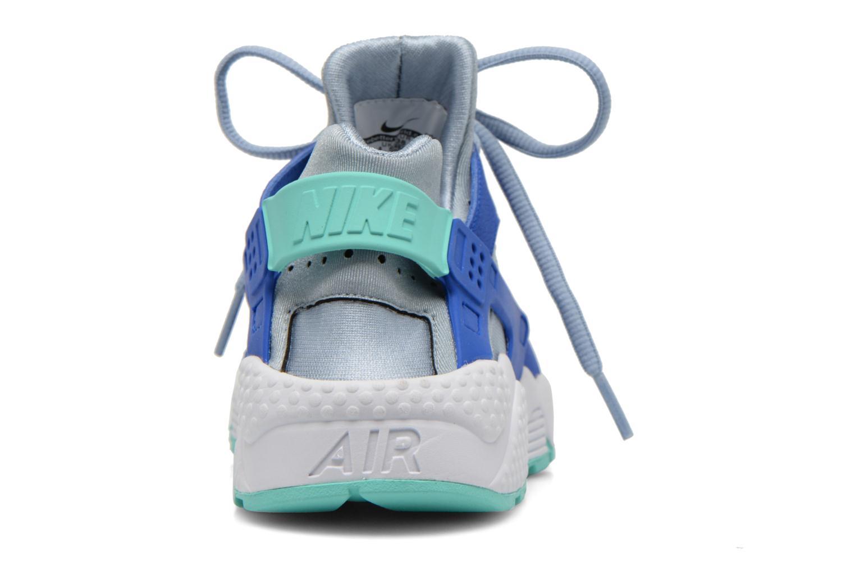 Baskets Nike Wmns Air Huarache Run Bleu vue droite