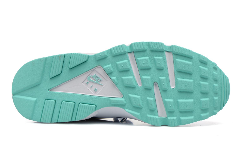 Baskets Nike Wmns Air Huarache Run Bleu vue haut