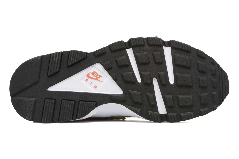 Baskets Nike Wmns Air Huarache Run Beige vue haut