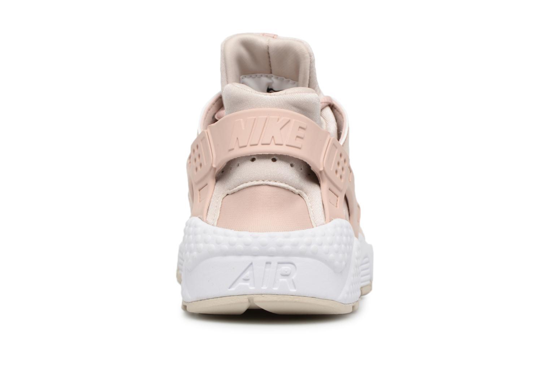 Baskets Nike Wmns Air Huarache Run Rose vue droite