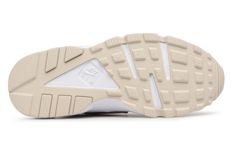 Baskets Nike Wmns Air Huarache Run Rose vue haut