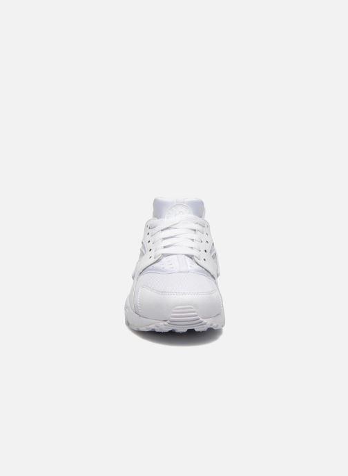 Sneaker Nike Nike Huarache Run (Gs) weiß schuhe getragen