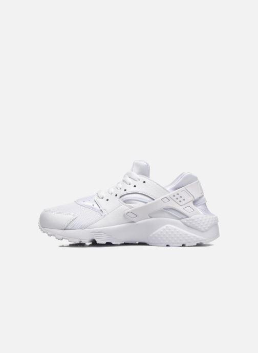 Baskets Nike Nike Huarache Run (Gs) Blanc vue face