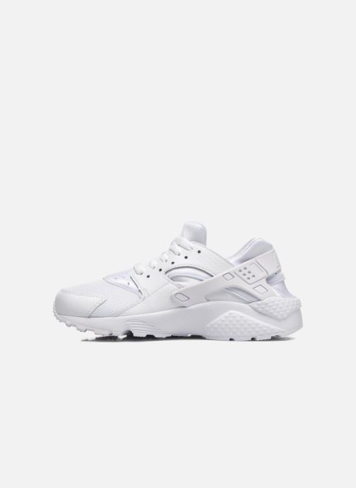 Baskets Nike Nike Huarache Run (Gs) Blanc vue face