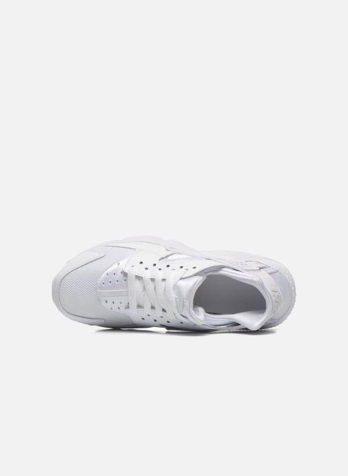 new concept dc81b dcae3 Baskets Nike Nike Huarache Run (Gs) Blanc vue gauche