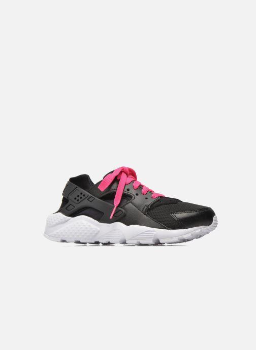 Baskets Nike Nike Huarache Run (Gs) Noir vue derrière