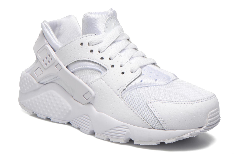Baskets Nike Nike Huarache Run (Gs) Blanc vue détail/paire