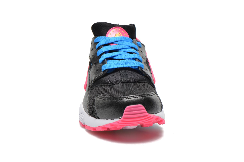 Deportivas Nike Nike Huarache Run (Gs) Negro vista del modelo