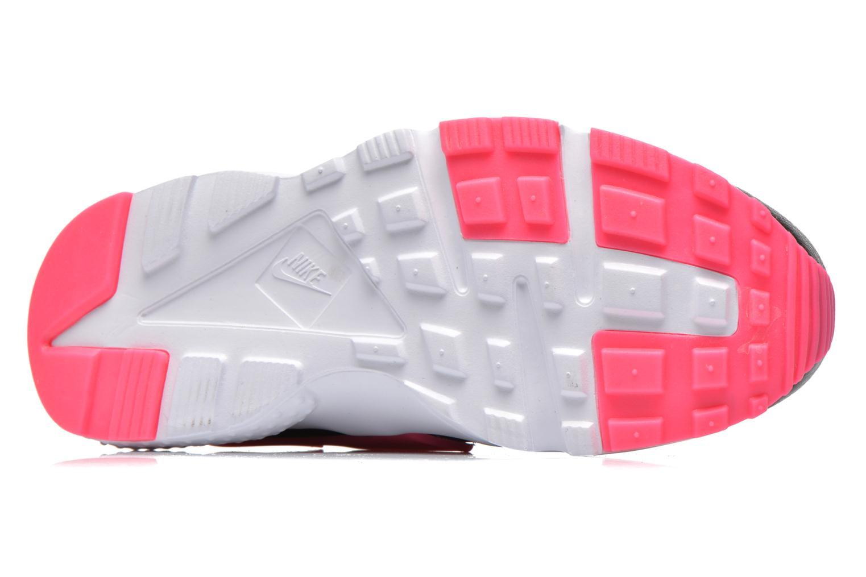 Deportivas Nike Nike Huarache Run (Gs) Negro vista de arriba