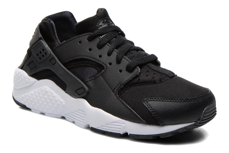 Trainers Nike Nike Huarache Run (Gs) Black detailed view/ Pair view